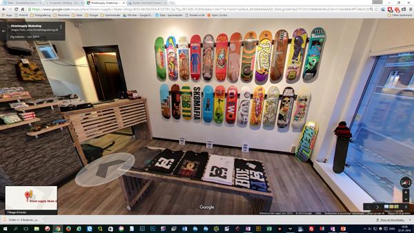 Google Streetview - firmafotografering