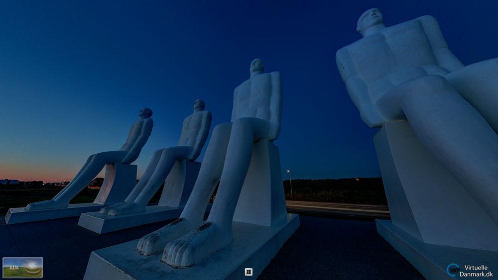 De hvide mænd - Esbjerg - panorama