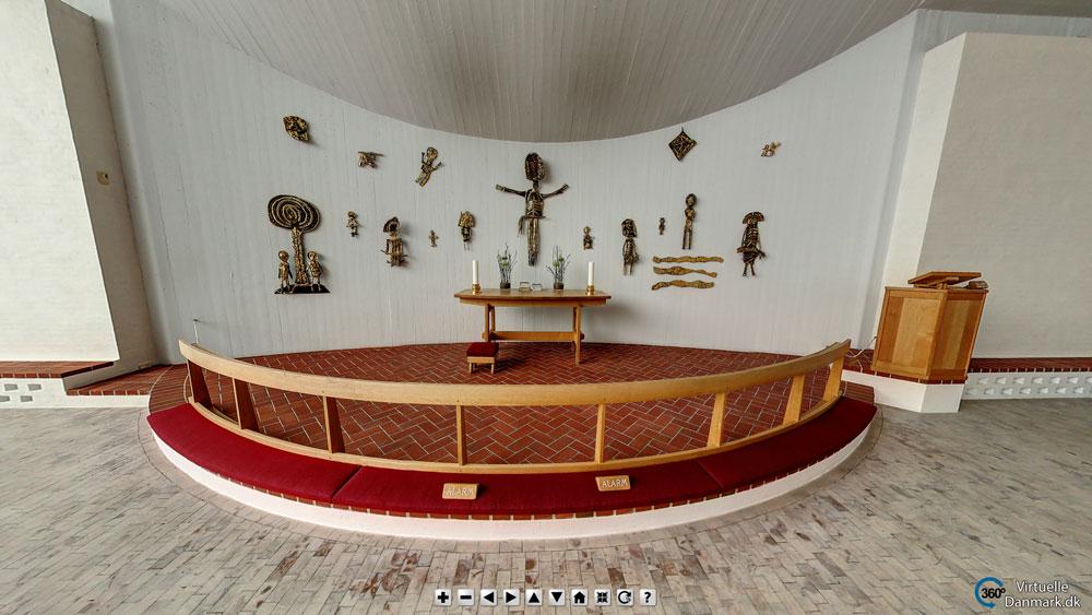Hjerting Kirke - med skjulte hotspots